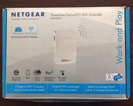 Netgear Powerline Nano200 WiFi Extender