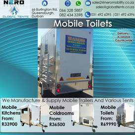 Mobile Toilet - Mobile Coldroom - Cooler - Freezer - Mobile Kitchen