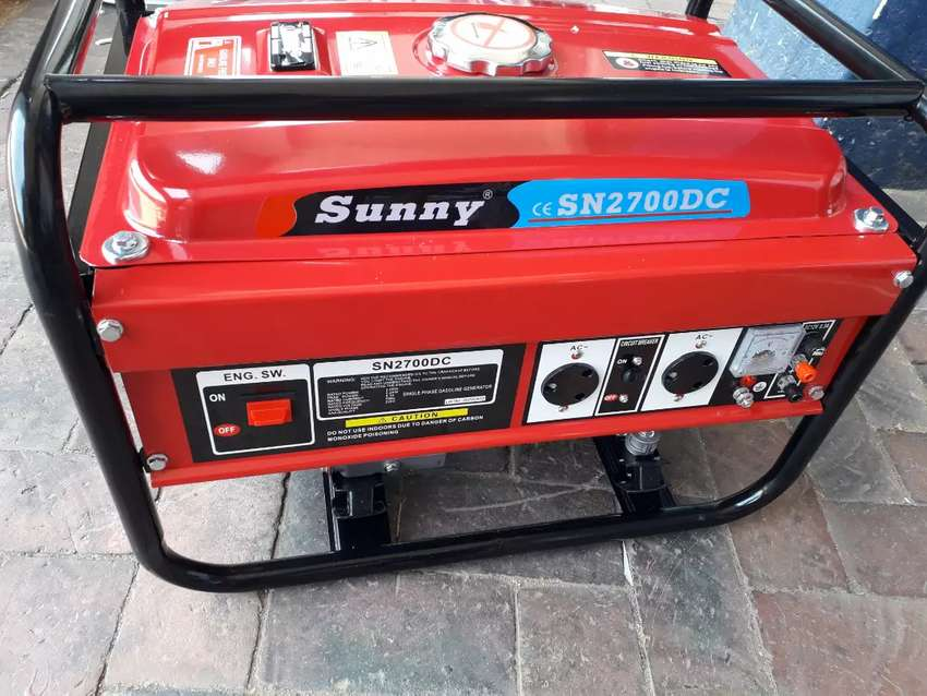2kw, 2700DC Sunny Easy Pull start on special for R3500 with warranty 0