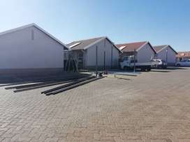 Temporary accommodation available in a 24 hour security estate.
