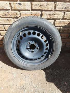 195/55R16 Spare Tyre, practically new