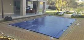 Safety pvc swimming pool covers