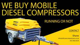 Wanted  : Mobile Diesel Compressors