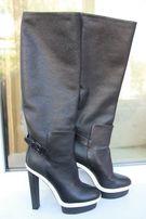 Продам кожаные сапоги (Balenciaga)