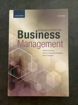 Introducttion to business management