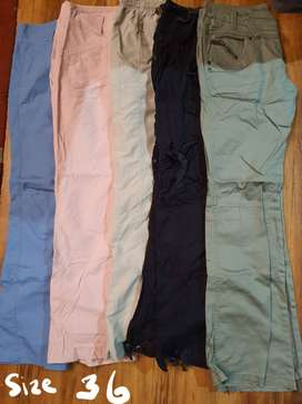 Ladies casual clothes, mostly size 34/36
