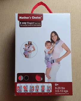 Mothers choice baby carrier 6 way