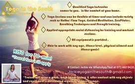 New Yoga Instructor Freelance Classes R150 for 70minute Sessions