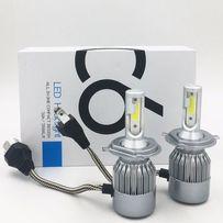 Авто LED лампы C6 Н4 ближний/дальний автомобільні лед лампи Н1 Н7 Н11.