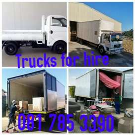 Movers trucks for hire