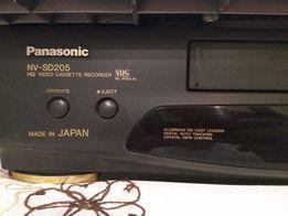 Видеомагнитофон Panasonic NV-SD205 (made in Japan)