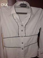 Блуза школьная белая польша