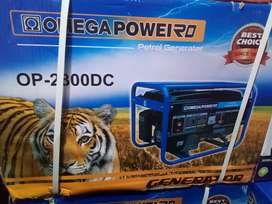 2.2kw,2800watts Omega Pull Start generator new for R3800 free delivery