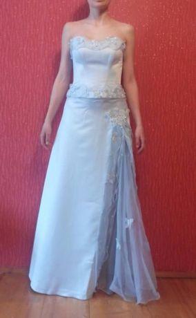 Платье выпускное / на свадьбу + ожерелье и серьги + туфли белые Киев - изображение 2