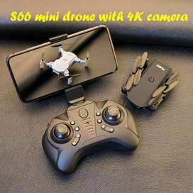 TOPACC S66 Mini Pocket Drone With 4K 1080P Dual Camera + 3 batteries