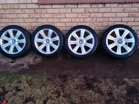 """17"""" Rims 330 with Tyres"""