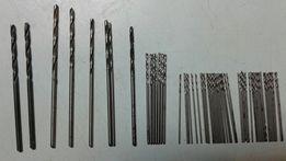 Сверла микро СССР спиральные,с вышлифованными канавками