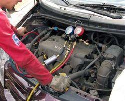 Заправка автомобильных кондиционеров(ремонт магистрали)