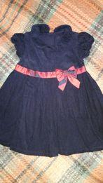 Продам красивое нарядное платье на девочку 12-18 мес.,1-1.5 года.