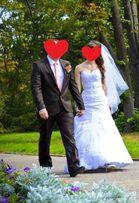 Свадебный костюм + галстук в подарок, шоколадного цвета б.у
