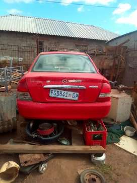 Mazda etude without engine for parts