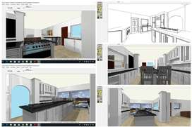 Kitchen Designs, New Kitchens, Laminated floors, Construction