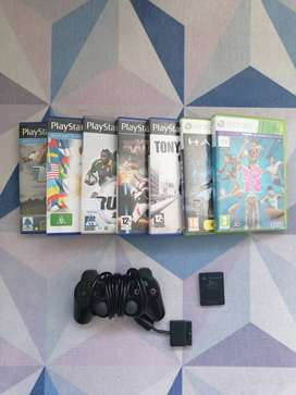 Playstation2 and Xbox360 games