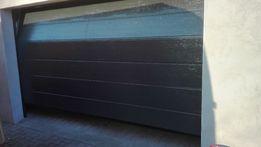 Brama garażowa kolor RAL7016 bramy segmentowe drzwi garażowe