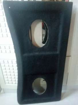 Velocity back board for speakers