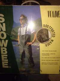 Fishing Waders Snowbee bootfooted for sale  South Africa