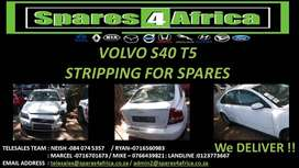 VOLVO S40 T5 STRIPPING FOR SPARES