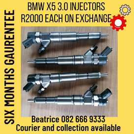 Bmw x5 3.0 injectors for sale