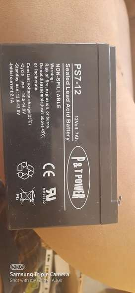 P & T Power PS7-12 Sealed Lead Acid Battery