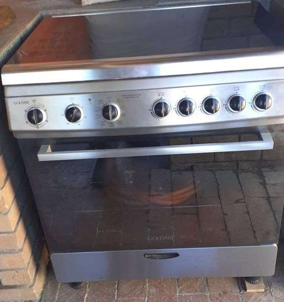 5 Burner Gas Stove with Electric Oven 0