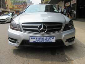 2013 Mercedes Benz C Class C180 with 122000km