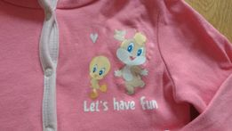 Lupilu bluza rozpinana Looney Tunes 62/68