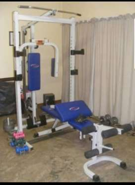 Trojan Home Gym Power Cage with 100kg weights