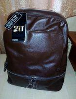 Рюкзак коричневый новый