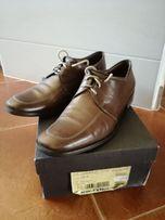 Skórzane buty Ryłko