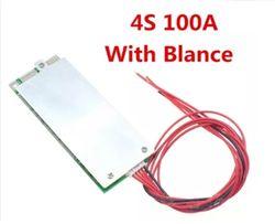Плата BMS 4s 100 А для LiFePO4 . с балансировкой. контроллер заряда 4с