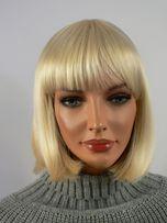 Peruka damska BOB blond BESTSELLER krótka