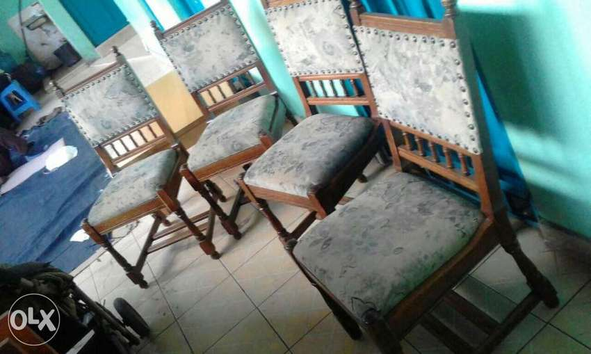 Antique strong dinning seats from germany at 8500ksh each 0