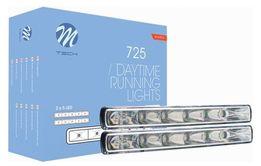 Światła dzienne JAZDY DZIENNEJ 6x LED High Power OSRAM 725 Homologacja