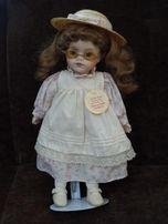 Фарфоровая коллекционная кукла Альберон