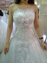 Свадебное платье очень не обычное