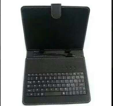USB TABLET LEATHER CASE WITH KEYBOARD 0