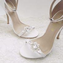 Klipsy do butów ALLORA biżuteria ozdobna klamerki ozdobne do obuwia