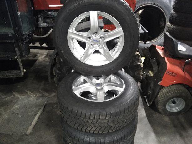 """Alu Felgi 17"""" + Opony Zimowe Audi Q5 Zobacz Idealne Mrągowo - image 1"""