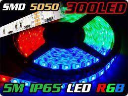 zestaw taśma LED kolorowa LED smd 5050 zasilacz sterownik pilot