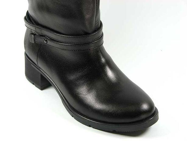 Высокие демисезонные кожаные сапоги с премиум кожи lordans Херсон - изображение 5